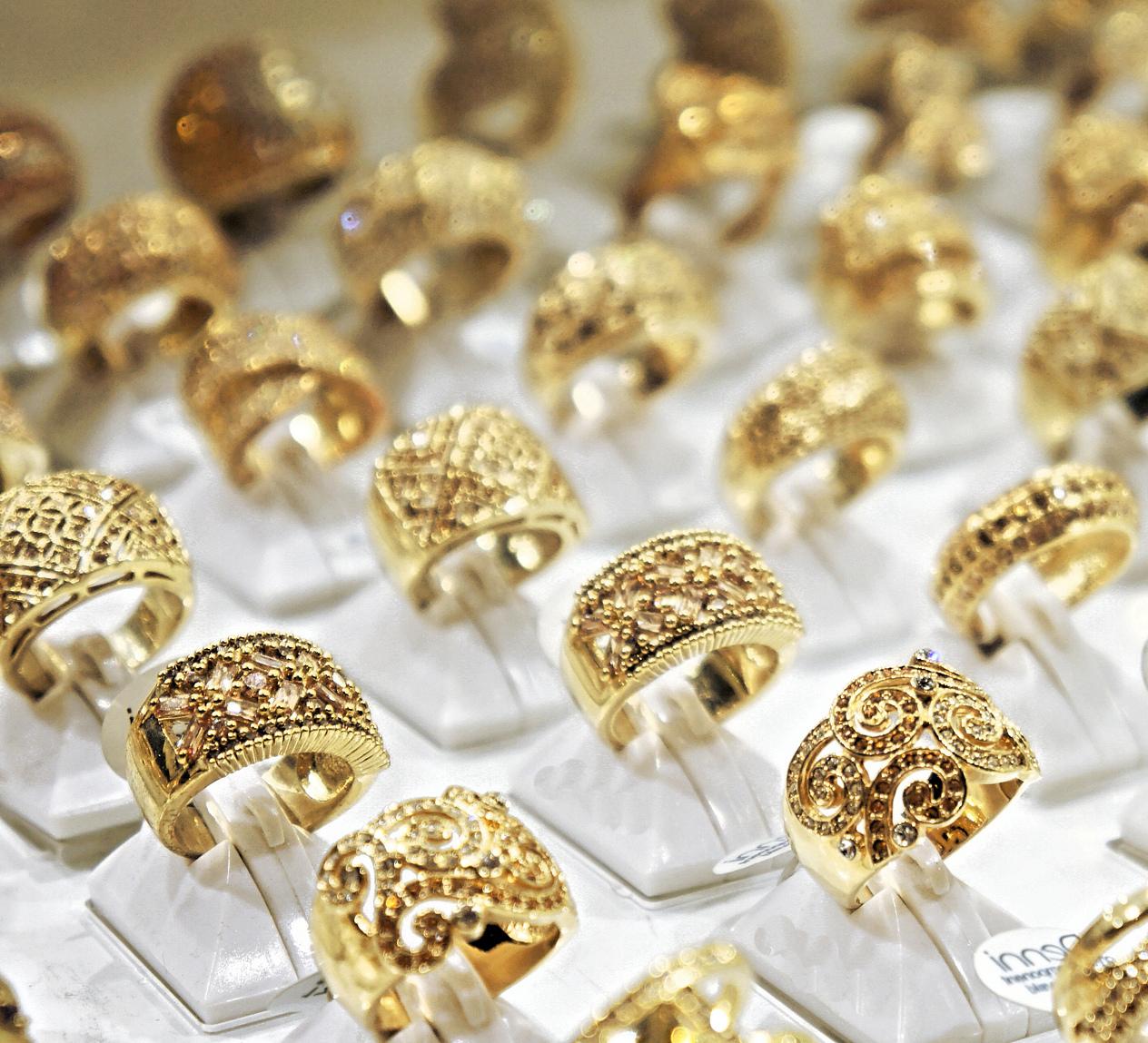 Ювелирные золотые изделия